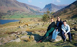 Crummock and Fleetwith Pike