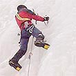 Ice climbing, Norway